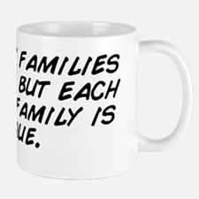 All happy families are alike, but each  Mug