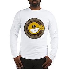 Smiley Peace Long Sleeve T-Shirt