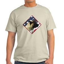 Akita Flag 2 T-Shirt