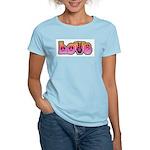 Peace and Love Women's Light T-Shirt