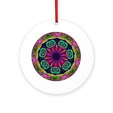 Aware (circle) Round Ornament