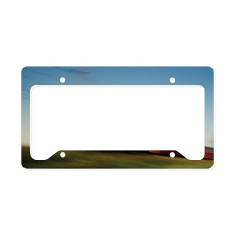 Electric train License Plate Holder