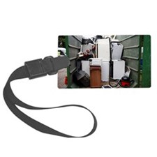 Electrical goods recycling Luggage Tag