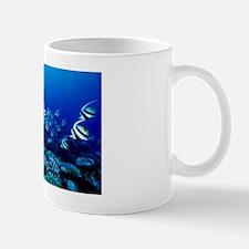 False moorish idol shoal Mug