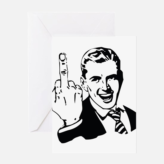 The Middle Finger Greeting Cards