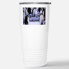 Emperor penguin chicks  Travel Mug