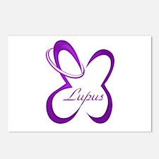 Lupus Butterfly Loop Postcards (Package of 8)