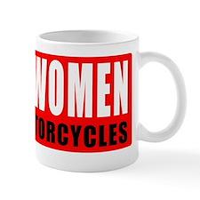 Real women ride motorcycles Mug