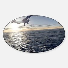 First solo transatlantic flight, 19 Sticker (Oval)