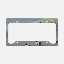 Eurasian wigeons License Plate Holder