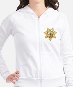 San Mateo County Sheriffs Badge Fitted Hoodie