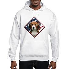 Beagle Flag 2 Hoodie