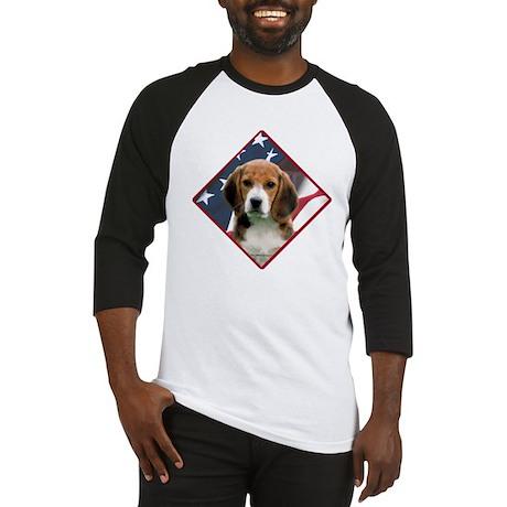 Beagle Flag 2 Baseball Jersey