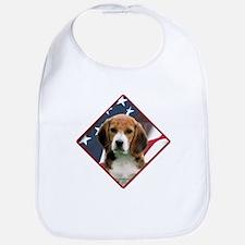 Beagle Flag 2 Bib