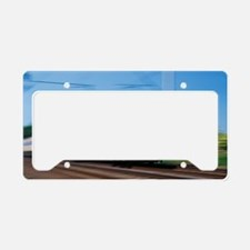 Express train License Plate Holder
