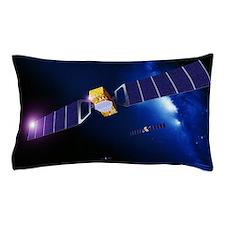 Galileo navigation satellites Pillow Case