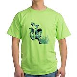 Motocross Green T-Shirt