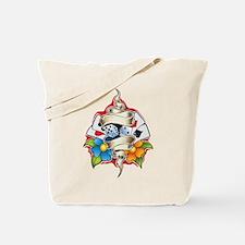 Gambling Tattoo Tote Bag