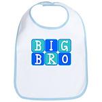 Big Bro (Blue/Green) Bib
