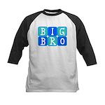 Big Bro (Blue/Green) Kids Baseball Jersey