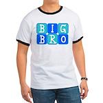 Big Bro (Blue/Green) Ringer T
