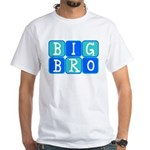 Big Bro (Blue/Green) White T-Shirt