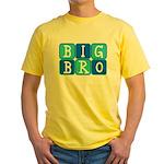 Big Bro (Blue/Green) Yellow T-Shirt