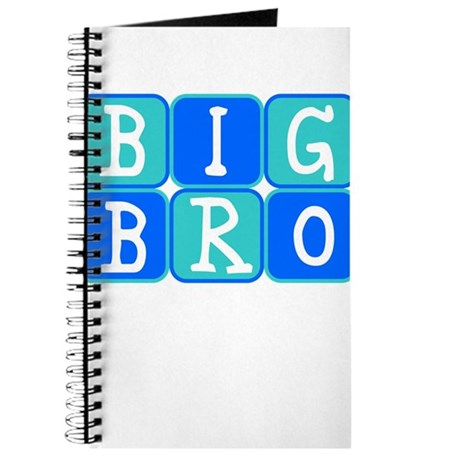 Big Bro (Blue/Green) Journal