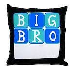 Big Bro (Blue/Green) Throw Pillow