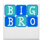 Big Bro (Blue/Green) Tile Coaster