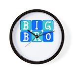Big Bro (Blue/Green) Wall Clock