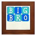 Big Bro (Blue/Green) Framed Tile