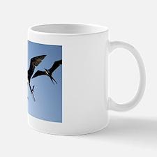 Frigate birds in flight Mug