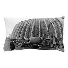 Fisheye lens view of Chernobyl's sarco Pillow Case