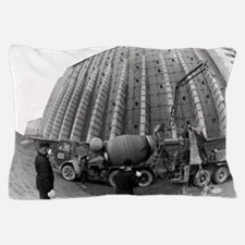 Fisheye lens view of Chernobyl's sarco Pillow Case