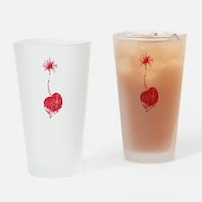 Vintage Cherry Bomb Drinking Glass