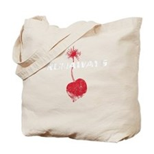 Vintage Cherry Bomb Tote Bag
