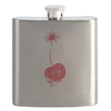 Vintage Cherry Bomb Flask