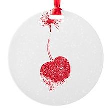 Vintage Cherry Bomb Ornament
