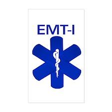 EMT-I Bandaids Rectangle Decal