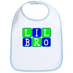 Lil Bro (Blue/Green Bright) Bib