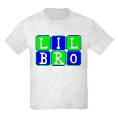 Lil Bro (Blue/Green Bright) T-Shirt