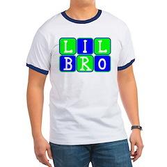 Lil Bro (Blue/Green Bright) Ringer T