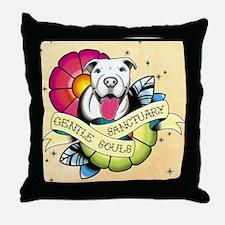 Gentle Souls Sanctuary Throw Pillow