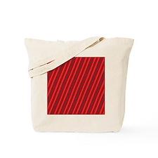 Red Stripes Colorful Wonder Designer Tote Bag