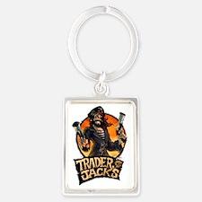 Pirate Trader Jack Portrait Keychain