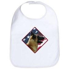 Malinois Flag 2 Bib