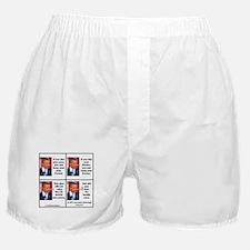 Obamacare Pinocchios Boxer Shorts