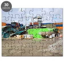 Glass crushing Puzzle