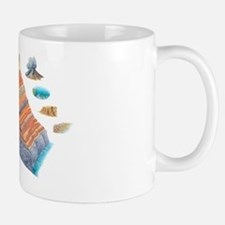 Geological formations, artwork Mug